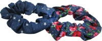Jewelz A Set Of Two Blue and Pink Rubber Band(Multicolor) - Price 127 40 % Off