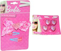 Mamaboo Barbie Tic Tac Clip, Head Band, Hair Accessory Set(Pink) - Price 137 50 % Off