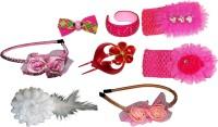 Sanskruti Glam FloraNFashion Hair Accessory Set(Multicolor)