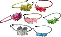 Twinkle FloralStyle Hair band Hair Accessory Set(Multicolor)