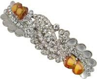 Taj Pearl Designer Hair Clip(Silver)
