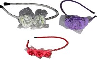 Prita Floral Style Hair Band(Multicolor) - Price 410 79 % Off