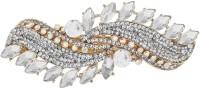Mansiyaorange party wear fancy accessories Hair Clip(White) - Price 265 79 % Off