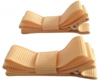 NeedyBee Double Deck Hair Clip(Beige)