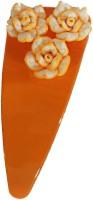OPC Elegant Designer Hair Accessory Tic Tac Clip(Orange) - Price 119 56 % Off