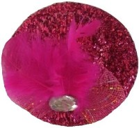 Viva Fashions Hatstyle Hair Clip(Pink)