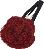 Young & Forever Maroon Rose Hair Clip(Red) - Price 435 78 % Off