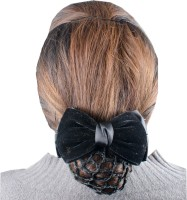 Majik Juda hair accessories Black Bun Clip(Black)
