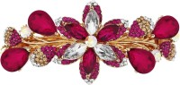 Mansiyaorange party wear fancy accessories Hair Clip(Pink) - Price 255 76 % Off
