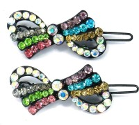 SPM Pair Of Elegant New Hairclips43 Hair Clip(Multicolor) - Price 200 83 % Off