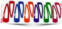 Best & Lowest Stylish Tik Tak Hair Pins - Set of 6 Multicolor Peers Tic Tac Clip(Multicolor) - Price 142 42 % Off