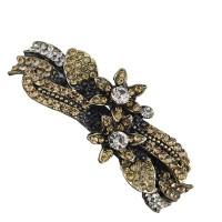 Taj Pearl Designer Hair Clip(Yellow)