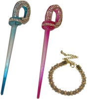 Yashasvi Juda Stick Hair Accessory Set(Multicolor) - Price 650 78 % Off