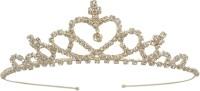 Ice Dragon Princess Tiara Hair Band(Silver, White) - Price 224 82 % Off