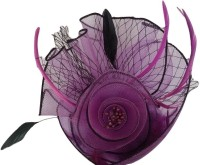 Viva Fashions Princess Flower Hair Clip(Purple)