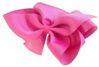 NeedyBee Big Bow Hair Clip(Pink)