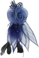 ILU Metal Tiara Flower Bun Clip Bun Band Beauty Styling Hair Accessories Jewellery Fashion Casual Wedding Bridal Party Women Girls Bun Clip, Hair Band, Hair Clip, Bun, Head Band, Hair Pin, Back Pin(Blue) - Price 250 84 % Off