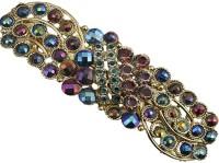 Taj Pearl Designer Hair Clip(Gold)