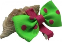 NeedyBee Butterfly Bow Hair Clip(Light Green)