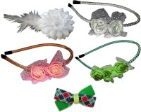 Twinkle Floral Hair Accessory Set(Multicolor)
