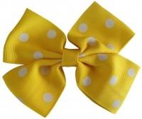 NeedyBee Flower Hair Clip(Yellow, White)