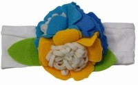 Pinkblueindia Buy Co Flower Bouquet Baby Girl Head Band(Yellow)