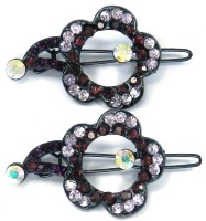 SPM Pair Of Elegant New Hairclips60 Hair Clip(Multicolor) - Price 200 83 % Off