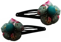 OPC Beautiful Ethnic Hair Accessory - Pack of 2 Tic Tac Clip(Multicolor) - Price 109 56 % Off