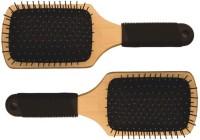 VEGA Premium Wooden Paddle Hair Brush E1-PB (set of 2)
