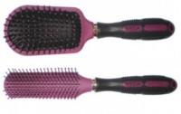 VEGA Flat Brush E6-FB & Cushioned Brush E6-CB (Pack of 2 )