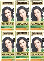 Indus Valley Organically Natural Gel Dark Brown 3.00 (Pack of 6) Hair Color(Dark Brown 3.00)