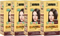 Indus Valley 100% Organic Botanical Brown (Pack of 4) Hair Color(Brown)