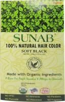 Sunab 100% Natural Soft Black Hair Color(Soft Black)