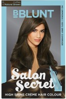 BBlunt Salon Secret High Shine Creme Hair Color(Coffee Natural Brown 4.31)