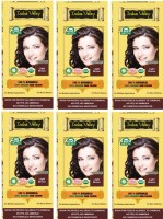 Indus Valley 100% Organic Botanical Light Brown- Pack of 6- No Chemical Hair Color(Light Brown)