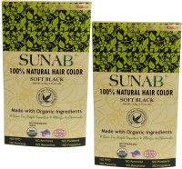 Radico Sunab Herbal Soft Black  Hair Color(Soft Black)