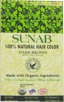 Sunab 100% Natural Dark Brown Hair Color(Dark Brown)