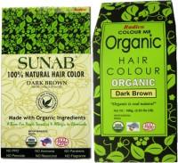 Radico Sunab (Combo) Dark Brown Hair Color(Beige, Green)