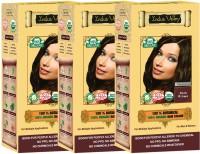 Indus Valley 100% Certified Organic Botanical Dark Brown (Triple pack) Hair Color(Dark Brown)