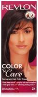 Revlon Color 'N Care Hair Color(Brown Black 2N)