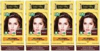 Indus Valley 100% Organic Botanical Mahogany (Set of 4) Hair Color(Mahogany)