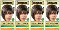 Indus Valley Organically Natural Gel Medium Brown 4.00 (Pack of 4) Hair Color(Medium Brown 4.00)