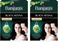 Banjaras Black Henna Hair Color(Brazilian Black) - Price 143 29 % Off