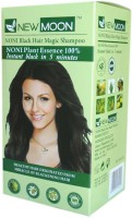 New Moon ( Pack of 80 ) Noni Shampoo For Grey Hair Color(Natural Black)