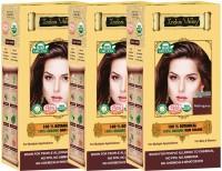 Indus Valley 100% Organic Botanical Mahogany-Triple Pack Hair Color(Mahogany)