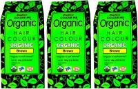 Radico Certified Organic & 100% Natural- (Set Of Three Box) Hair Color(Brown)