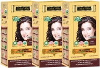 Indus Valley 100% Organic Botanical Light Brown (Set of 3) Hair Color(Light Brown)