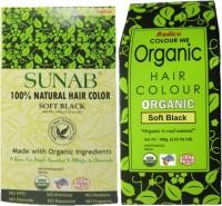 Radico Sunab 100% Natural & Organic Soft Black Hair Color(Beige, Green)