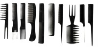 Out Of Box Professional Cutting & Styling Comb Kit