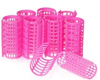 One Personal Care Self Holding Efficient Professional Salon Range Curl Formers Hair Curler(Pink) - Price 135 54 % Off